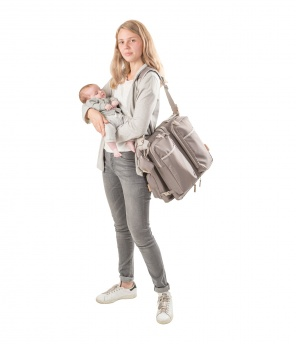 Baby-Wickel- und Tragetasche «Baby Travel 2 in 1»
