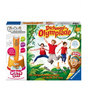 Tiptoi «Active Set Dschungel-Olympiade»