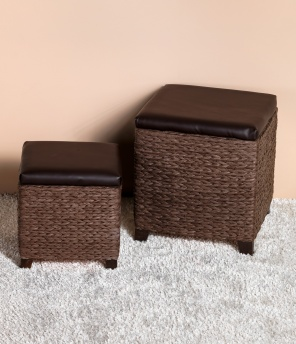 Hocker 2 in 1, 2er-Set