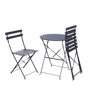 Bistro-Set «Bloom» rund, 3-teilig