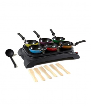 Wok-Party-Set, 14-teilig