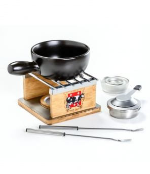 Käsefondue-Set «Swiss Cow» Duo