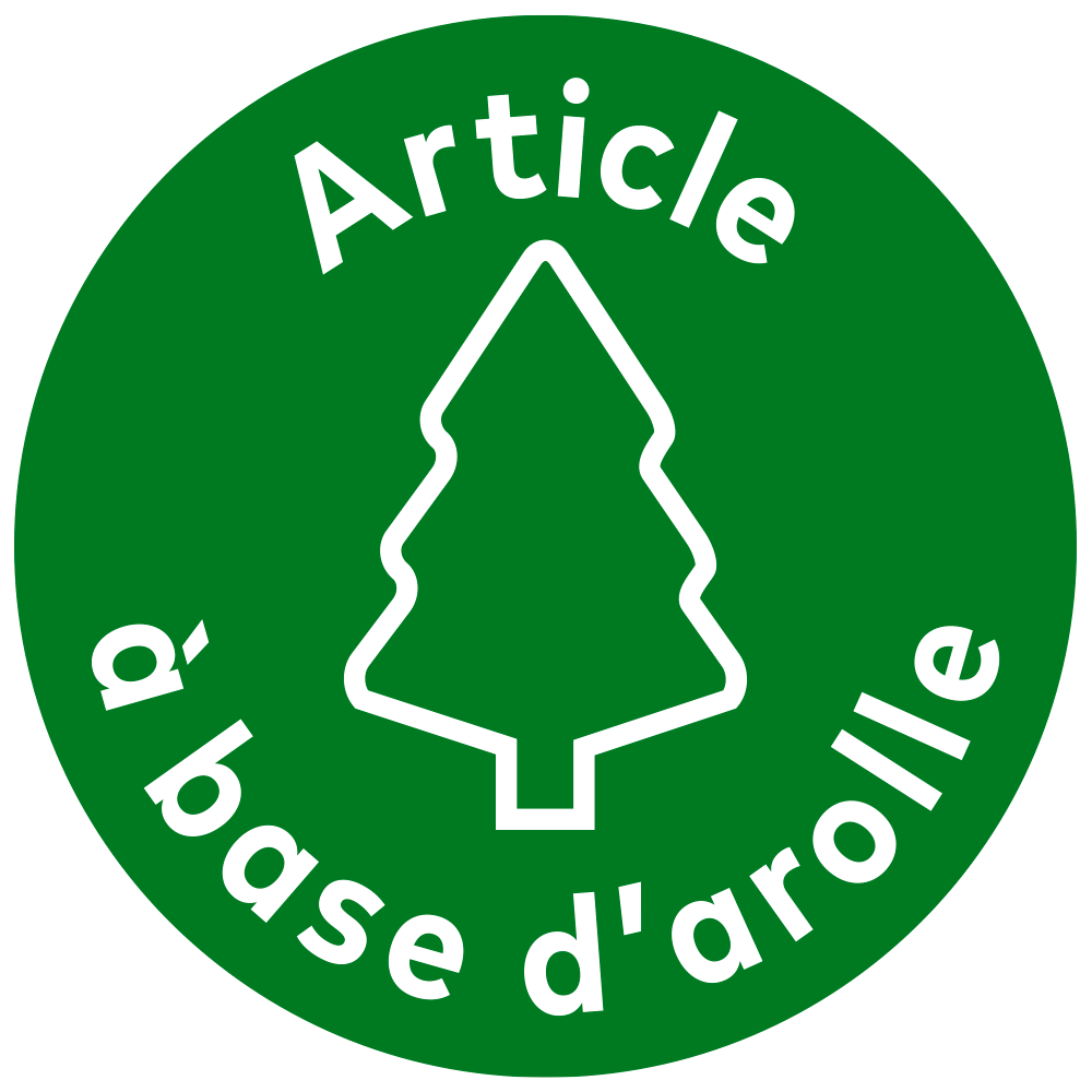 Articles à base d'arolle